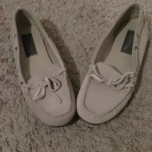 Never worn boat shoes!